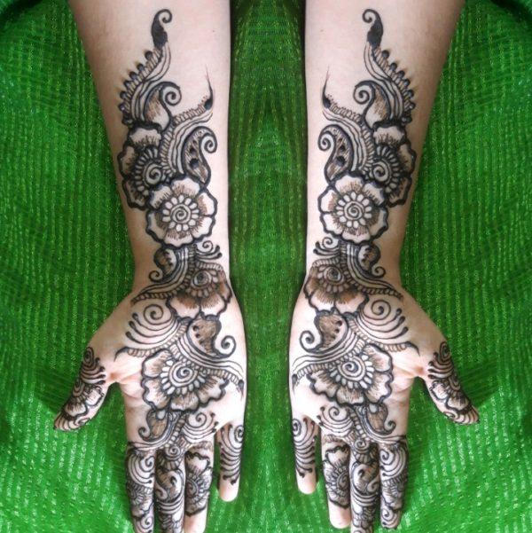 flower henna